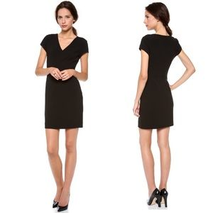 Diane von Furstenburg Black Norma Dress Ponte 8